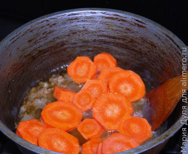 Тушёный картофель Каламбур с фаршем