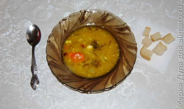 Зимний тыквенный суп пюре