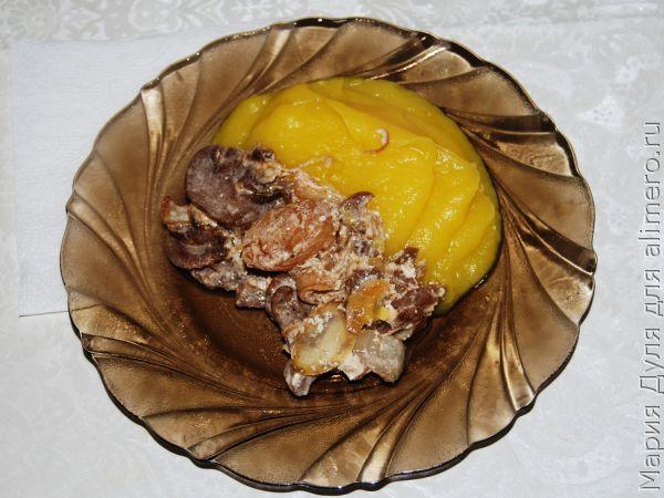 Мясо с овощами для грудничка рецепт