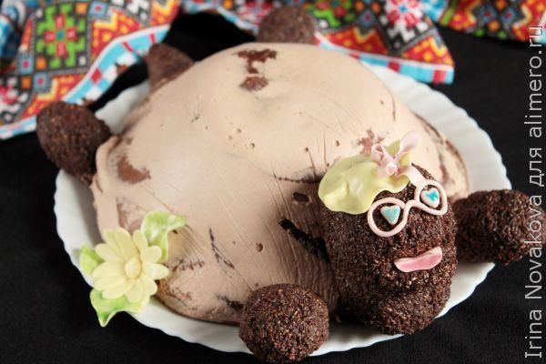 Торт черепаха самый лучший рецепт пошагово