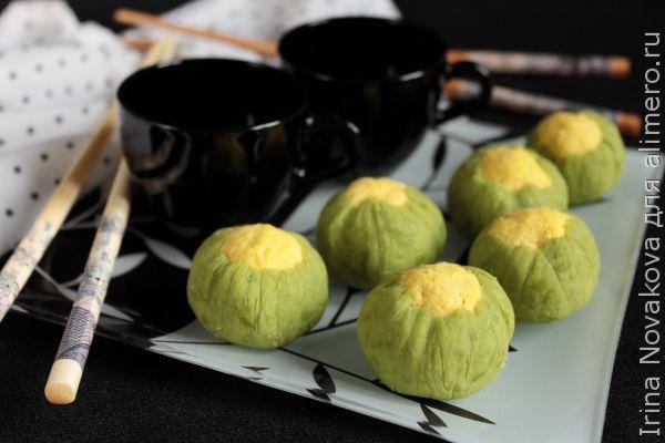 Японский десерт Тякин Сибори и идея закуски на русский лад