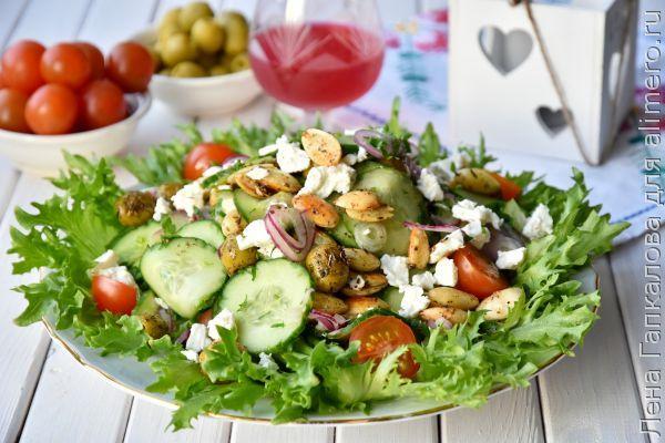 Рецепты салатов от джейми оливера