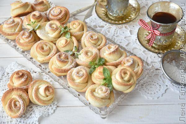 Печенье формочкой розочки — photo 5