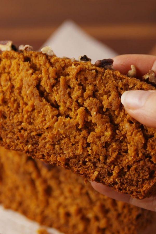 Вкусный тыквенный кекс без глютена